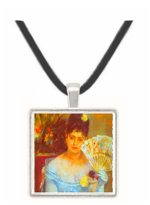 At the Ball by Morisot -  Museum Exhibit Pendant - Museum Company Photo