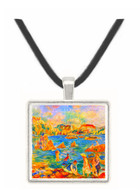 At the beach of Guernesey by Sisley -  Museum Exhibit Pendant - Museum Company Photo