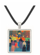 At the market by Felix Vallotton -  Museum Exhibit Pendant - Museum Company Photo