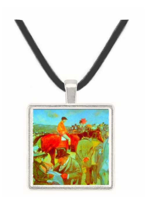 At the Races by Forain -  Museum Exhibit Pendant - Museum Company Photo