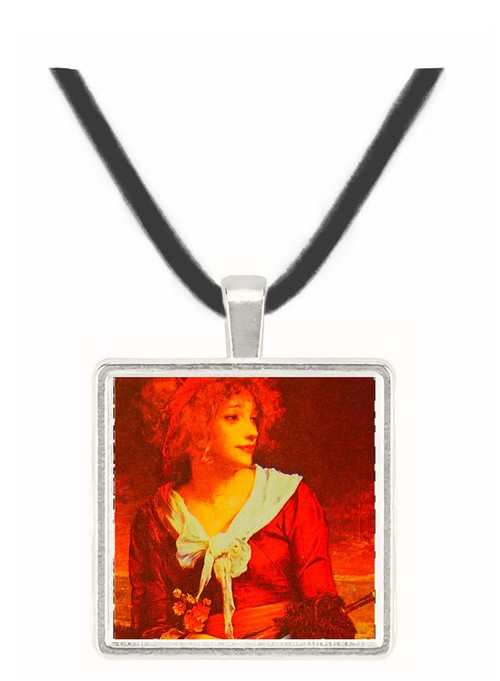 At the Seashore - Judith Leyster -  Museum Exhibit Pendant - Museum Company Photo