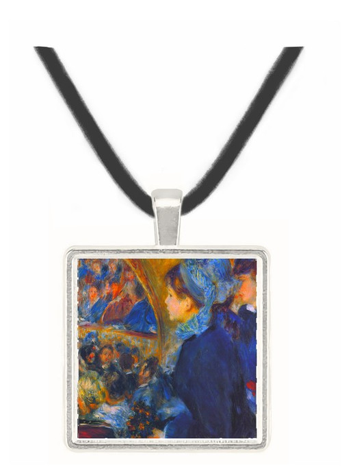 At the theatre by Renoir -  Museum Exhibit Pendant - Museum Company Photo