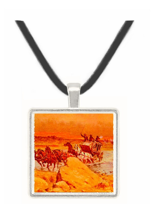 Attack on the Jerky - Olaf C. Seltzer -  Museum Exhibit Pendant - Museum Company Photo