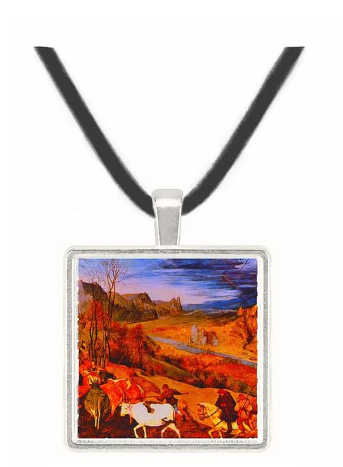 Autumn - Pieter Brueghel -  Museum Exhibit Pendant - Museum Company Photo