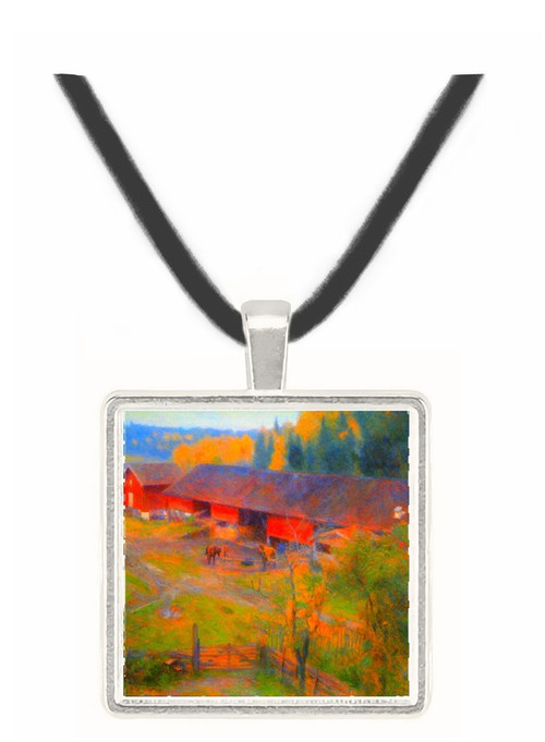 Autumn by Werenskjold -  Museum Exhibit Pendant - Museum Company Photo