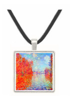 Autumn in Argenteuil by Monet -  Museum Exhibit Pendant - Museum Company Photo