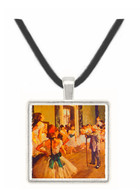 Ballet Class - Edgar Degas -  Museum Exhibit Pendant - Museum Company Photo