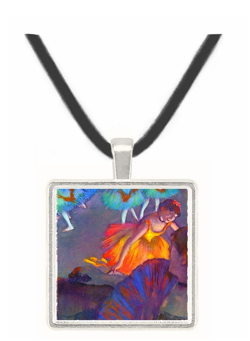 Ballet, from a box view by Degas -  Museum Exhibit Pendant - Museum Company Photo