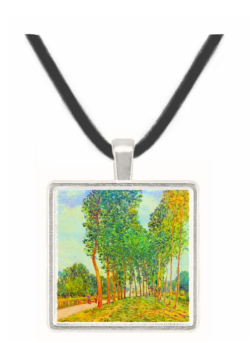 Banks of the Loing in Moret by Sisley -  Museum Exhibit Pendant - Museum Company Photo