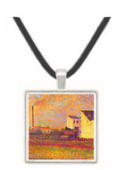Banlieue by Seurat -  Museum Exhibit Pendant - Museum Company Photo