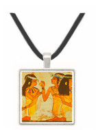 Banquet Scene - Tomb of Nakht - Egypt -  -  Museum Exhibit Pendant - Museum Company Photo