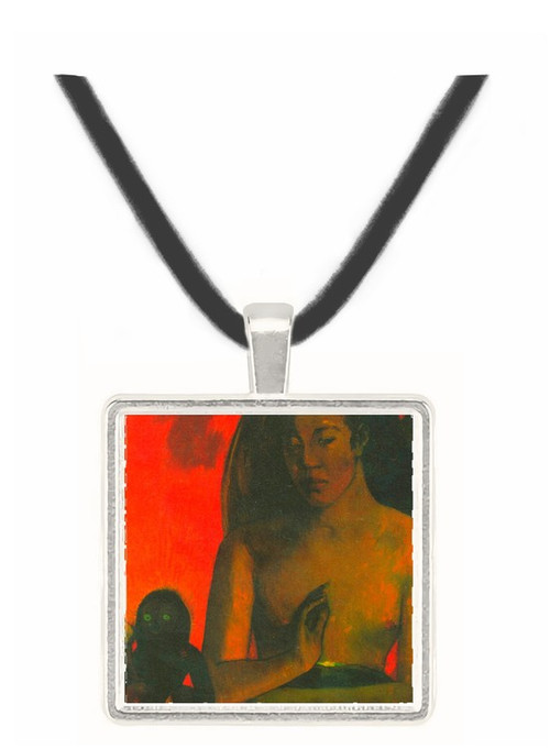 Barbaras by Gauguin -  Museum Exhibit Pendant - Museum Company Photo