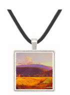 Bareford Mountains - Jasper F. Cropsey -  Museum Exhibit Pendant - Museum Company Photo