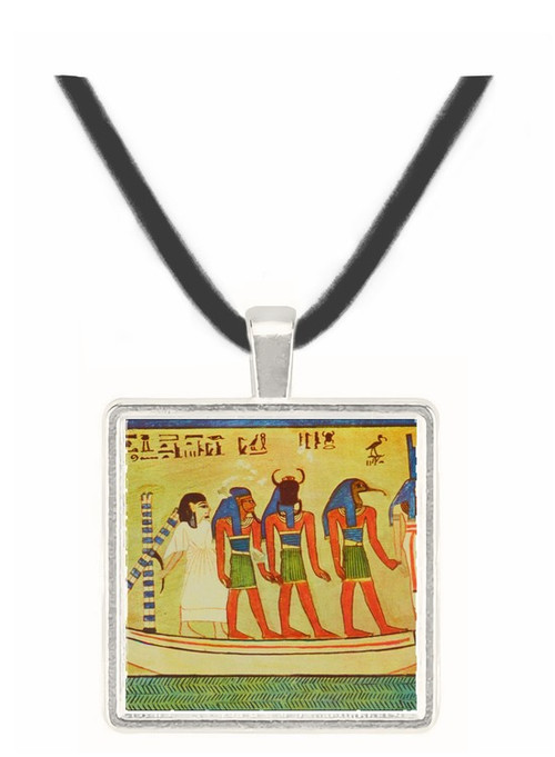 Barge of the Sun on its Night Course - Tomb of Amenophis II - Egypt -  -  Museum Exhibit Pendant - Museum Company Photo