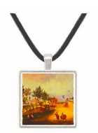 Barnstable - Mary Stevenson Cassatt -  Museum Exhibit Pendant - Museum Company Photo