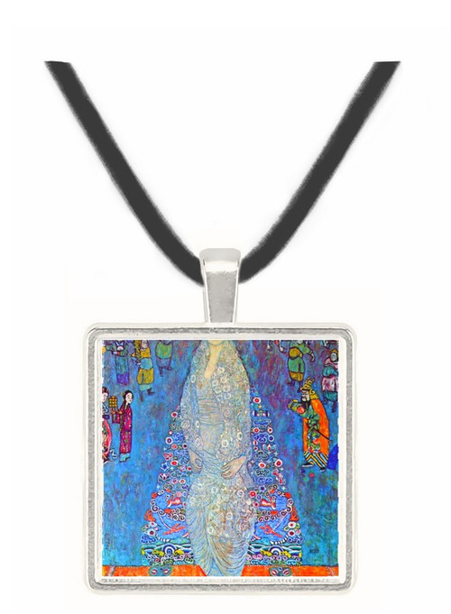 Baroness Elizabeth by Klimt -  Museum Exhibit Pendant - Museum Company Photo