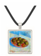 Basket of apples by Van gogh -  Museum Exhibit Pendant - Museum Company Photo