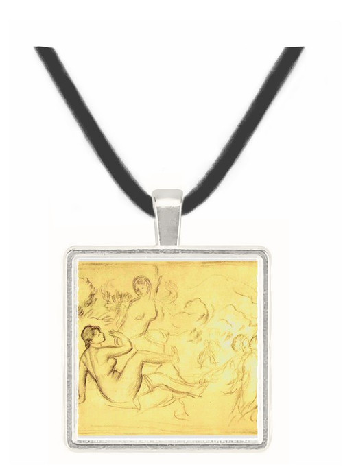Bather #2 by Renoir -  Museum Exhibit Pendant - Museum Company Photo