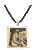 Bather #3 by Renoir -  Museum Exhibit Pendant - Museum Company Photo