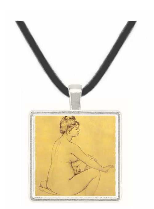 Bather by Renoir -  Museum Exhibit Pendant - Museum Company Photo
