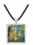 Bathers 2 by Cezanne -  Museum Exhibit Pendant - Museum Company Photo