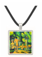 Bathers 3 by Cezanne -  Museum Exhibit Pendant - Museum Company Photo