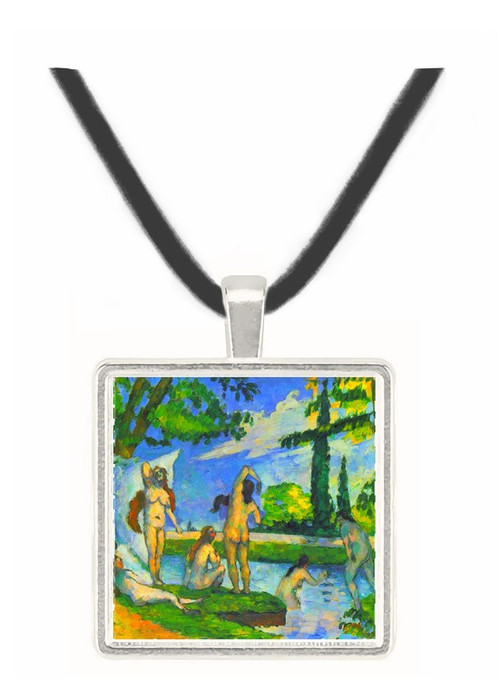 Bathers 4 by Cezanne -  Museum Exhibit Pendant - Museum Company Photo