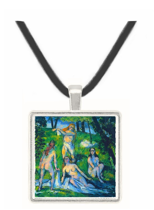 Bathers by Cezanne -  Museum Exhibit Pendant - Museum Company Photo