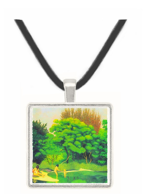 Bathers in the woods by Felix Vallotton -  Museum Exhibit Pendant - Museum Company Photo