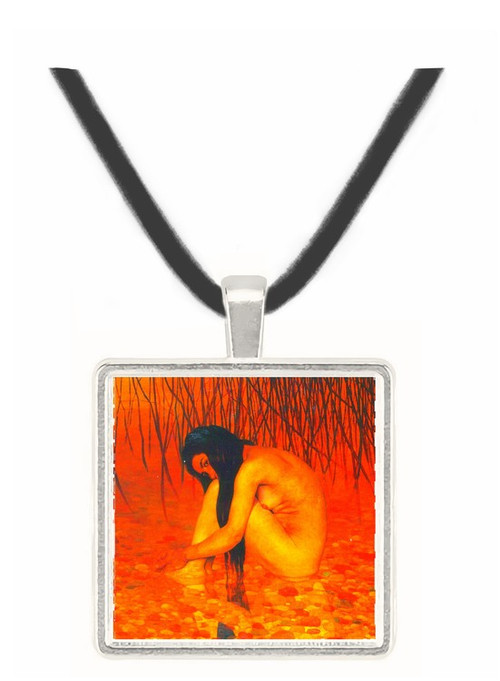 Bathing by Felix Vallotton -  Museum Exhibit Pendant - Museum Company Photo