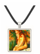 Bathing by Renoir -  Museum Exhibit Pendant - Museum Company Photo