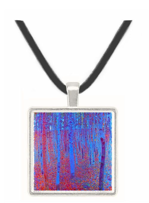 Beech Forest by Klimt -  Museum Exhibit Pendant - Museum Company Photo