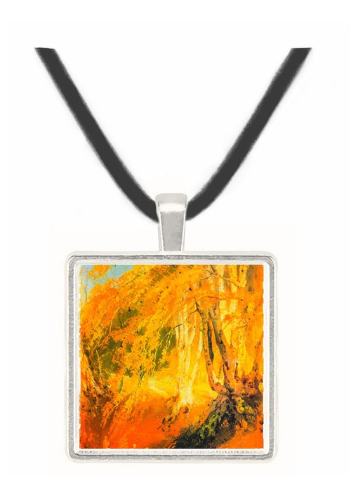 Beech woods with Gypsies 2 by Joseph Mallord Turner -  Museum Exhibit Pendant - Museum Company Photo