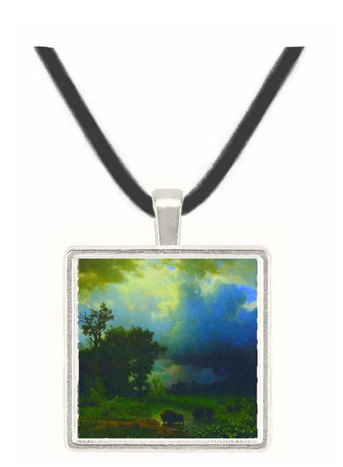 Before the Storm by Bierstadt -  Museum Exhibit Pendant - Museum Company Photo