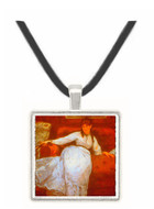 Berthe Morisot by Manet -  Museum Exhibit Pendant - Museum Company Photo