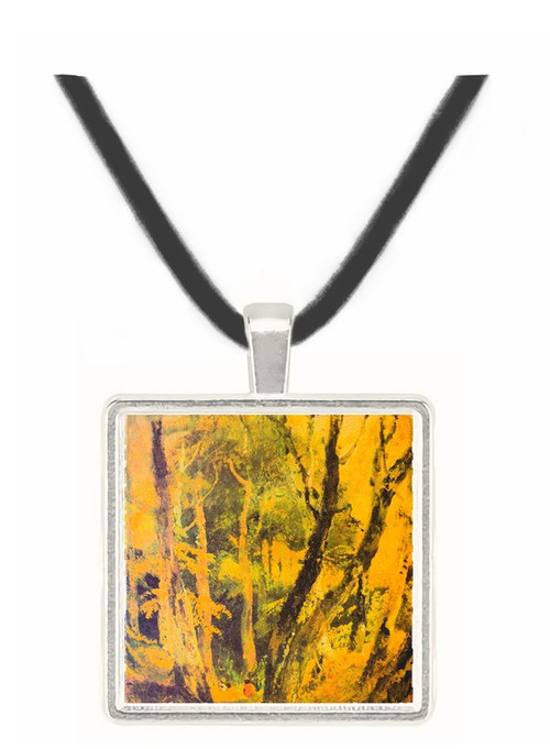 Birch woods with Gypsies by Joseph Mallord Turner -  Museum Exhibit Pendant - Museum Company Photo