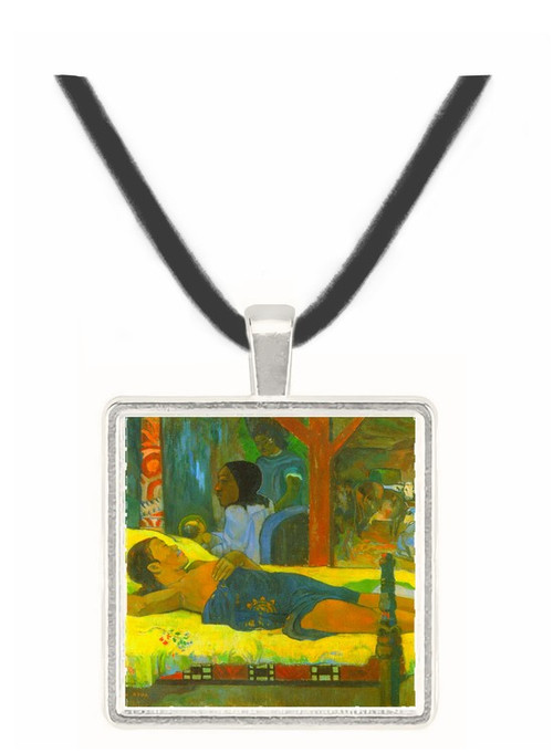 Birth of Christ Son of God Tetemari by Gauguin -  Museum Exhibit Pendant - Museum Company Photo