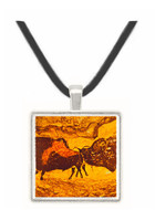 Bisons - Lang Shih ning -  Museum Exhibit Pendant - Museum Company Photo
