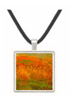 Blooming apple trees by Monet -  Museum Exhibit Pendant - Museum Company Photo
