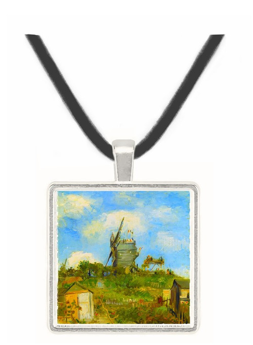 Blut Fin Windmill by Van Gogh -  Museum Exhibit Pendant - Museum Company Photo