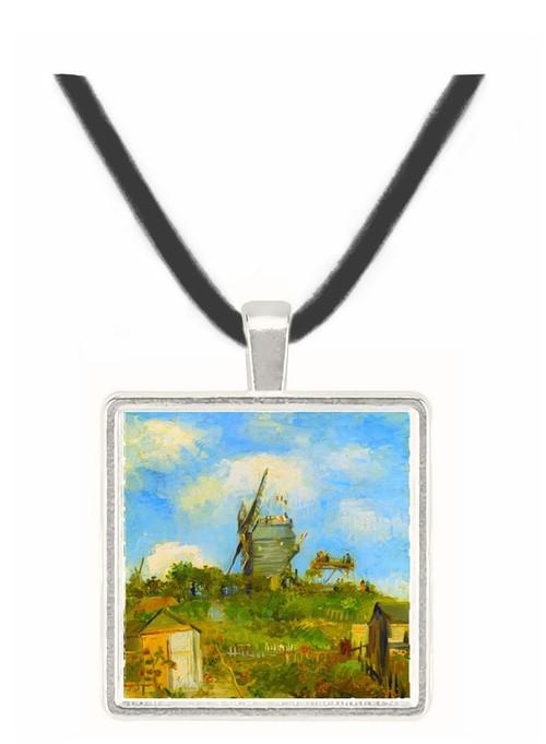 Blut Fin Windmill by Van Gogh -  Museum Exhibit Pendant - Museum Company Photo