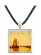 Boat in Rotterdam by Joseph Mallord Turner -  Museum Exhibit Pendant - Museum Company Photo