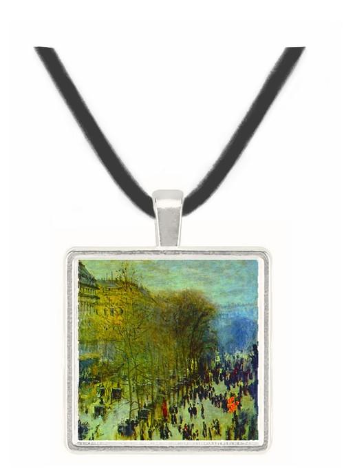 Boulevard of Capucines by Monet -  Museum Exhibit Pendant - Museum Company Photo