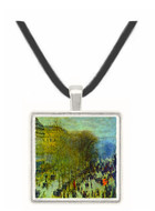 Boulevard of Capucines by Monet -  Museum Exhibit Pendant - Museum Company Photo