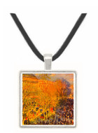 Boulevard of Capucines in Paris by Monet -  Museum Exhibit Pendant - Museum Company Photo