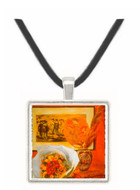 Bouquet by Renoir -  Museum Exhibit Pendant - Museum Company Photo