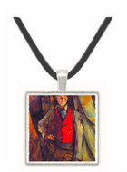 Boy in Red Waistcoat by Cezanne -  Museum Exhibit Pendant - Museum Company Photo