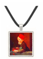 Boy with the cherries by Manet -  Museum Exhibit Pendant - Museum Company Photo