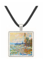 Break Up of Ice by Monet -  Museum Exhibit Pendant - Museum Company Photo