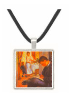 Breakfast at Berneval by Renoir -  Museum Exhibit Pendant - Museum Company Photo